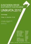 Vernissage 2010 Unikata Flyer